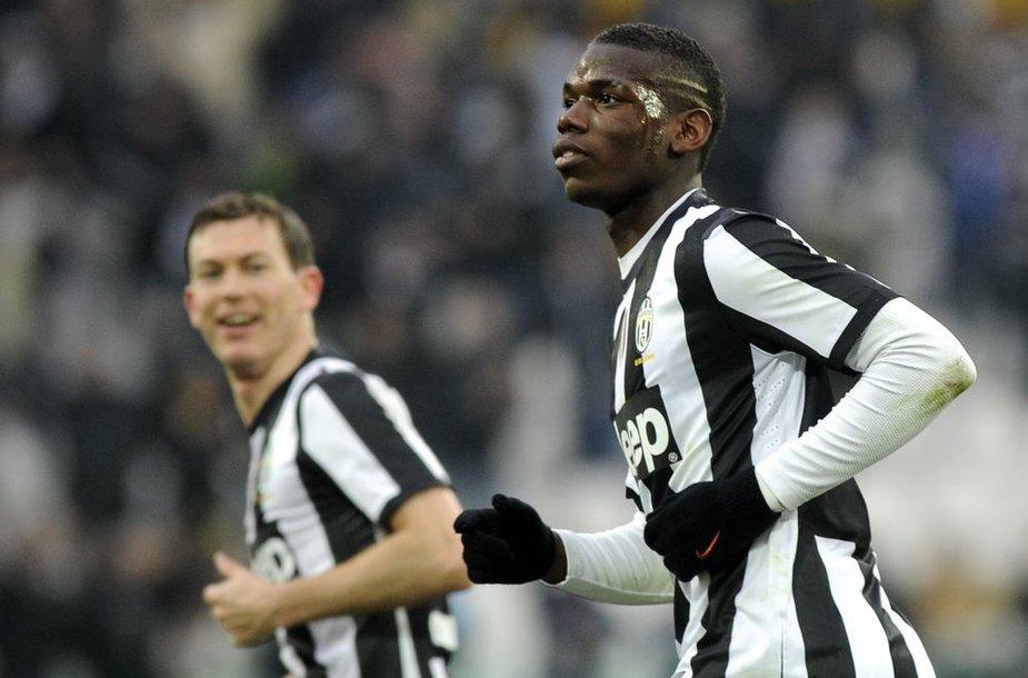 """""""Juventus"""" šventė pergalę"""