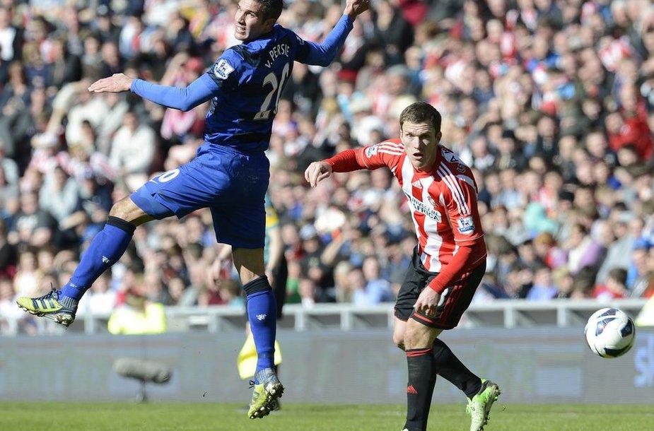 """""""Man Utd"""" pergalei prieš """"Sunderland"""" užteko vieno įvarčio"""
