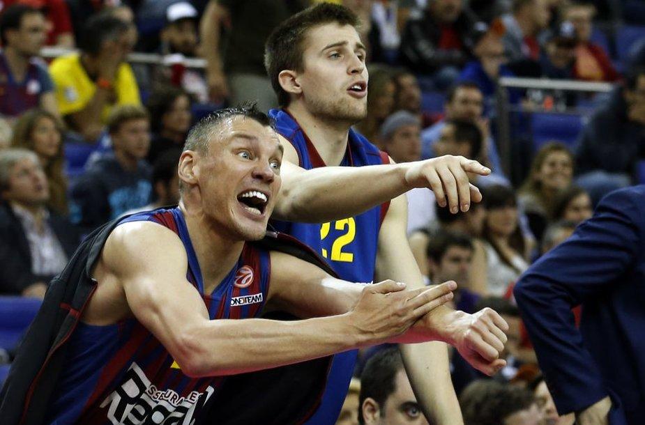Šarūnas Jasikevičius dėl Eurolygos titulo nekovos