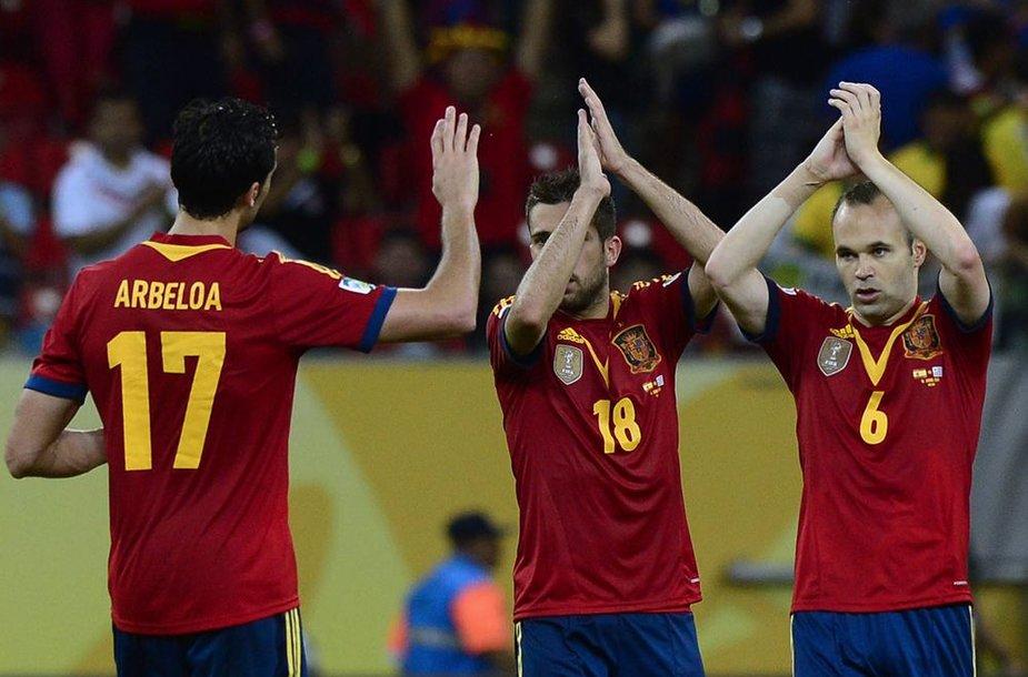 Ispanijos rinktinė – turnyro favoritė