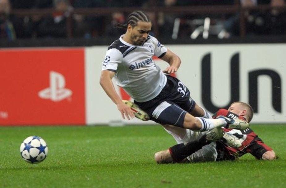 """UEFA aštunfinalio rungtynėse """"Tottenham"""" šventė pergalę svečiuose"""