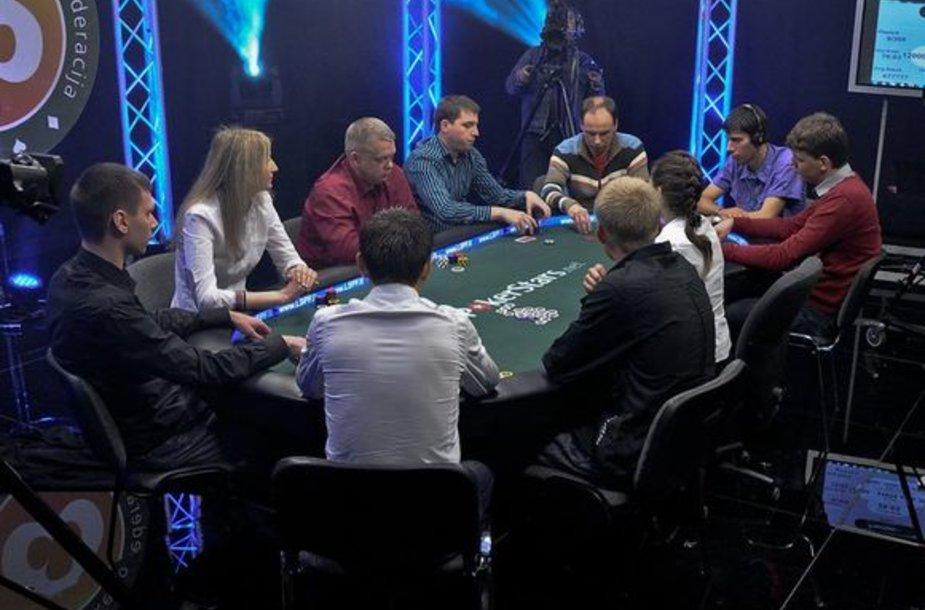 """Sportinio pokerio turnyre """"Vieneri metai po…"""" triumfavo vilnietis Tomas Muraška"""