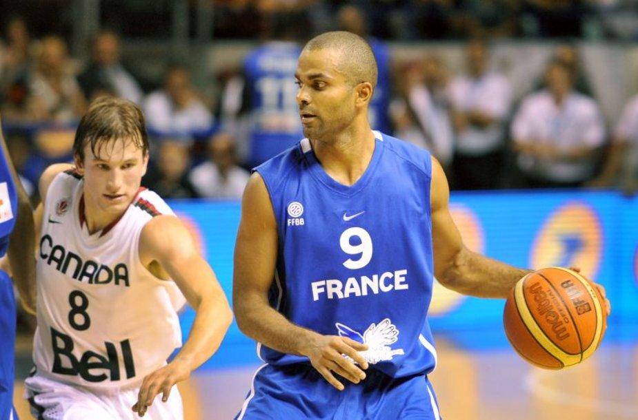 Prancūzijos rinktinė nugalėjo Kanadą