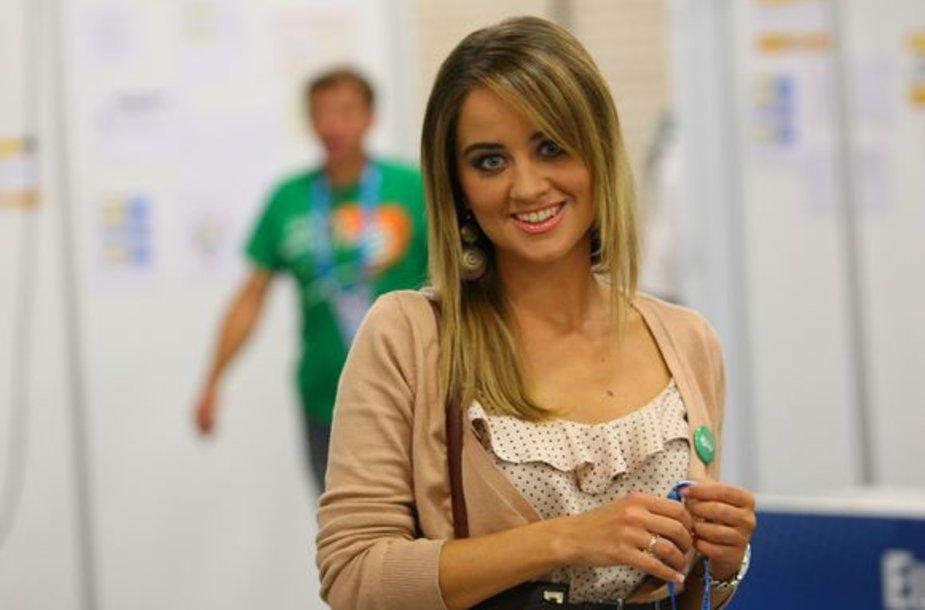 Ispanijos žurnalistė Karina Kvašniova