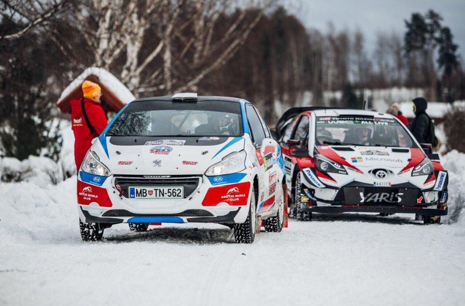 Deividas Jocius ir Donatas Zvicevičius pradėjo WRC ralį Švedijoje