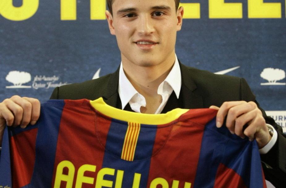 Katalonijos klubo naujokas Ibrahimas Afellay