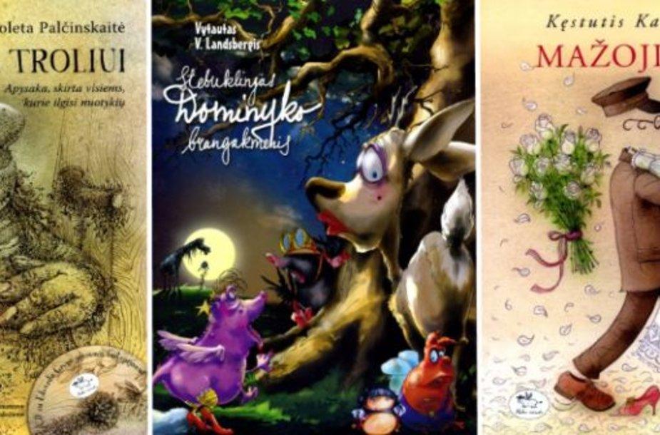 Metų vaikų knygos kategorijoje dėl nugalėtojo vardo varžosi trys knygos.
