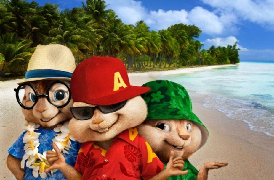 """""""Alvinas ir burundukai 3"""""""