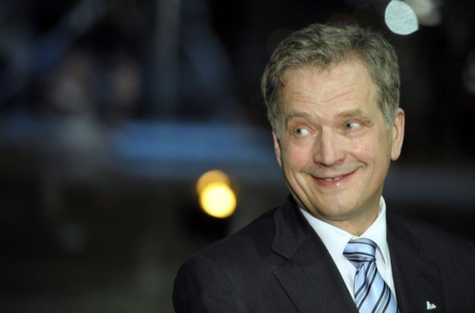 Suomija rinko prezidentą