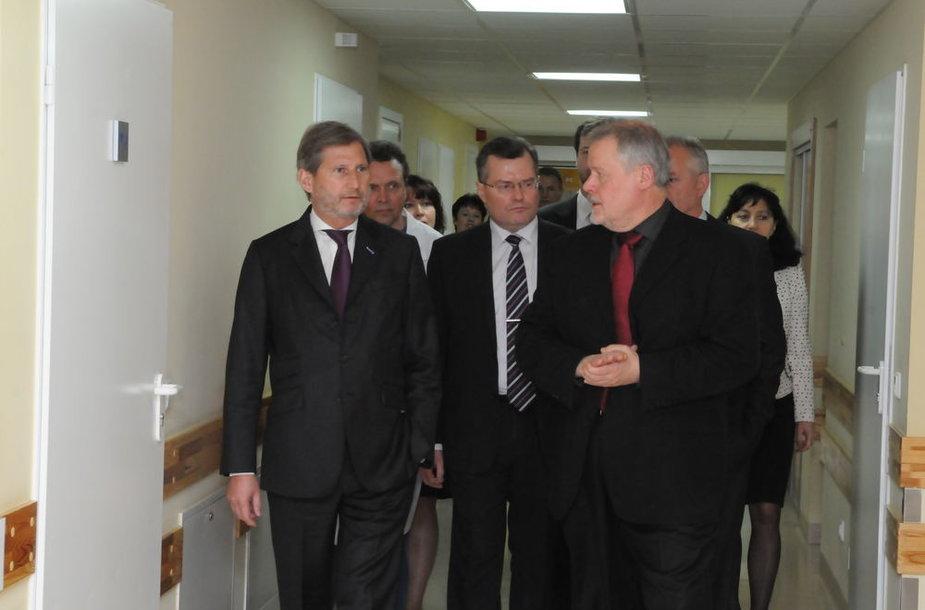 Sveikatos apsaugos ministerijos parengtas ir įgyvendintas kardiologijos projektas Rytų ir Pietryčių Lietuvoje sulaukė palankaus Europos Komisijos įvertinimo. Projektą Regioninės politikos plėtros  eurokomisarui Johannesui Hahnui (ka