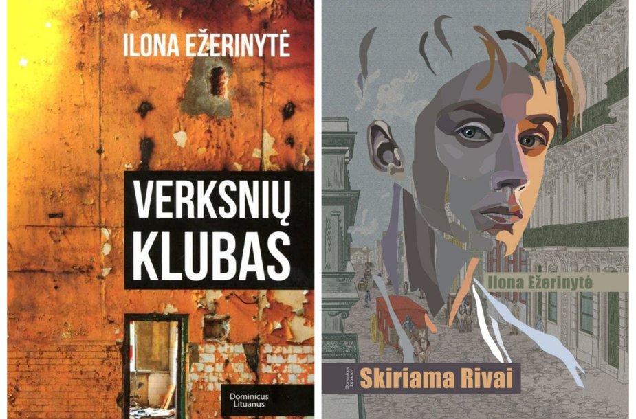 """Knygos """"Verksnių klubas"""" ir """"Skiriama Rivai"""""""