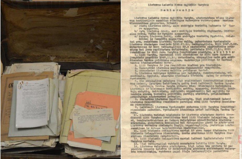 Rastas dar vienas originalus 1949 metų vasario 16 dienos deklaracijos egzempliorius