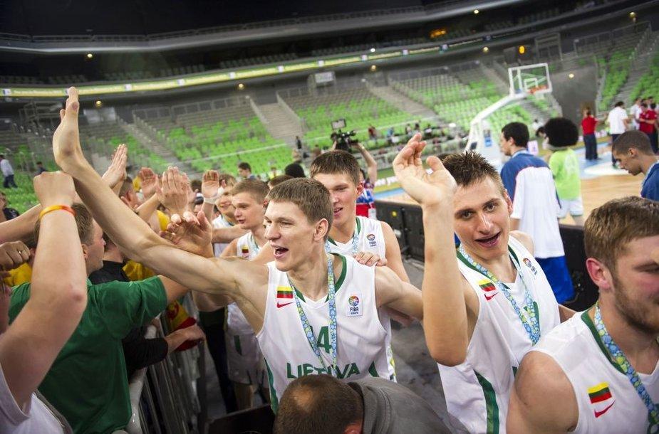 Auksinė Lietuvos krepšininkų karta pateks į istoriją