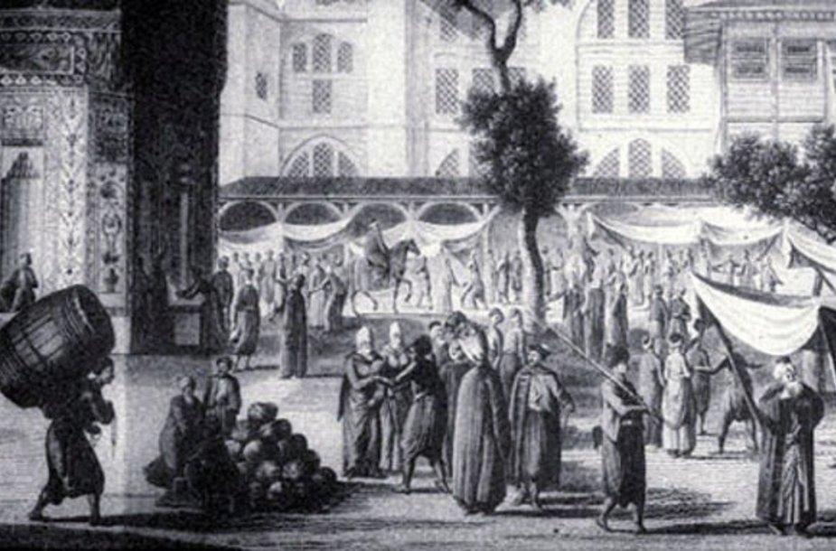 Stambulo turgus, po kurį prieš tris amžius galėjo vaikštinėti Regina Salomėja.
