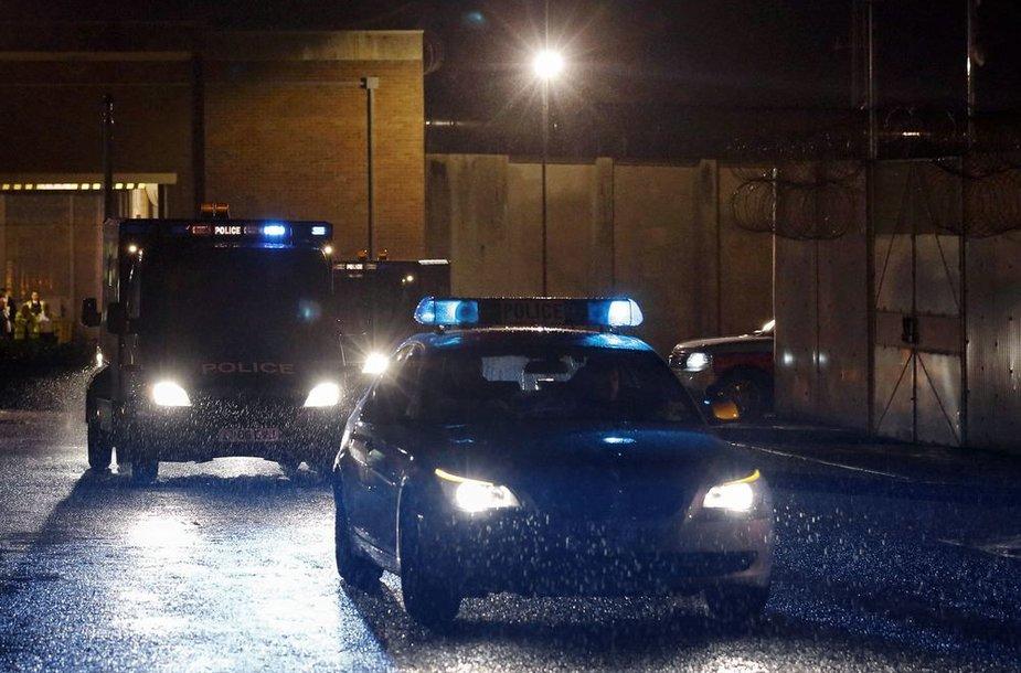 Didžiosios Britanijos policija.