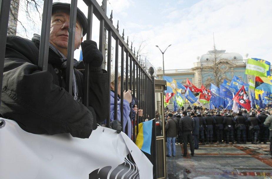 Protestas Ukrainoje.