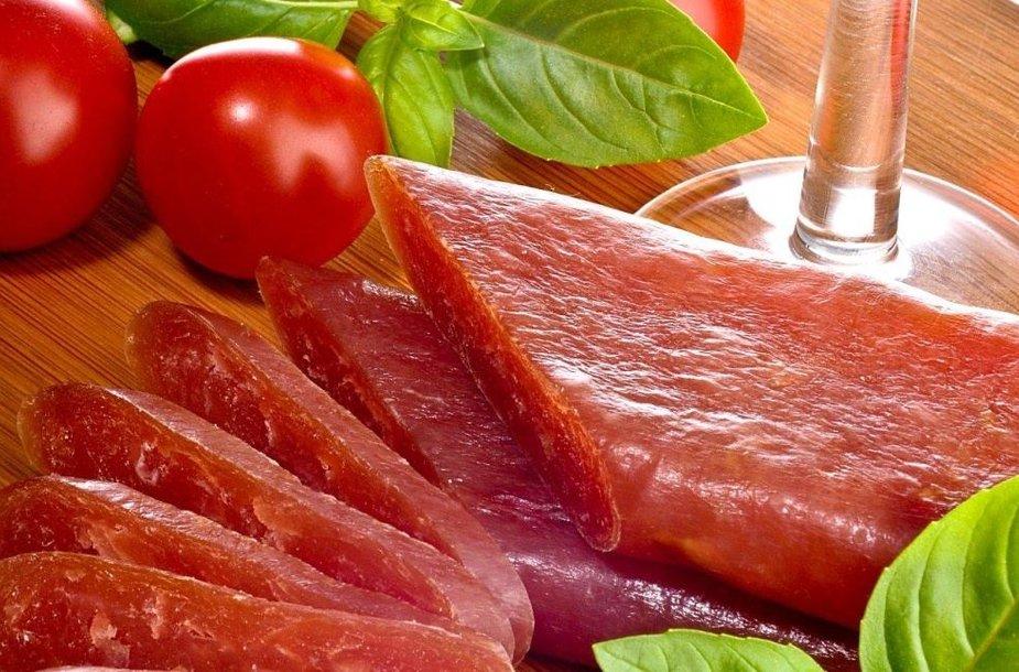 Mėsos produktai pagal jų paruošimo būdus skirstomi į virtus, rūkytus ir vytintus.