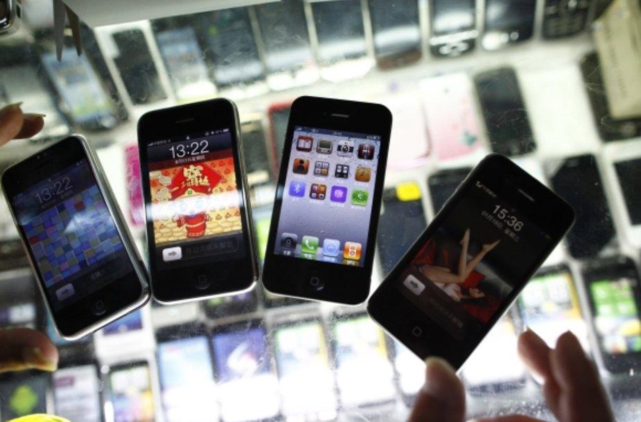 """Kinijoje galima įsigyti """"iPhone 5"""" kloną"""
