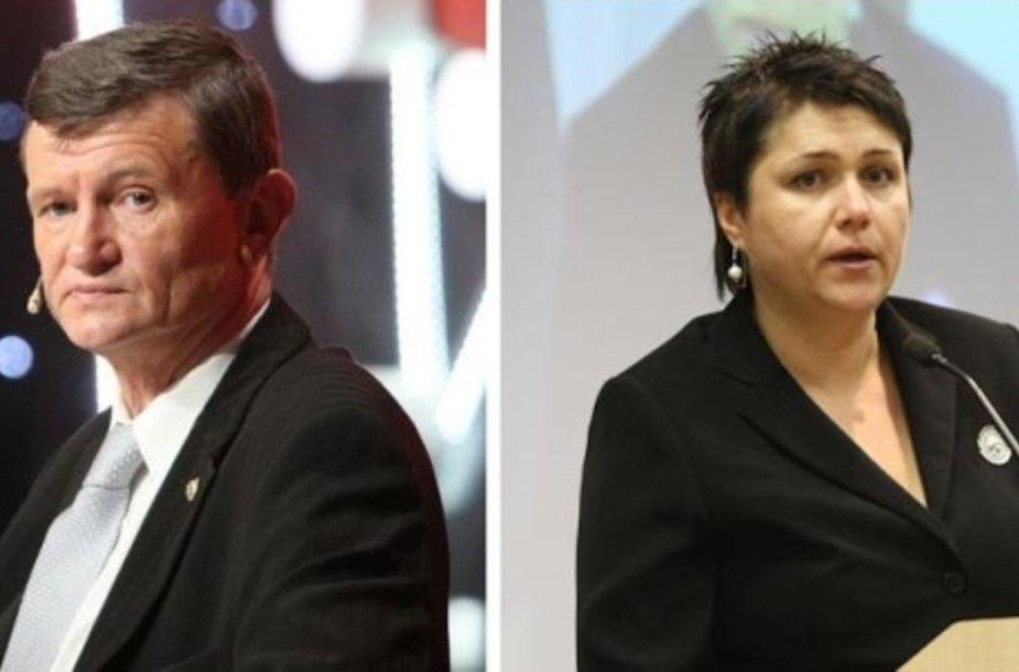 Sergejus Jovaiša ir Daina Gudzinevičiūtė