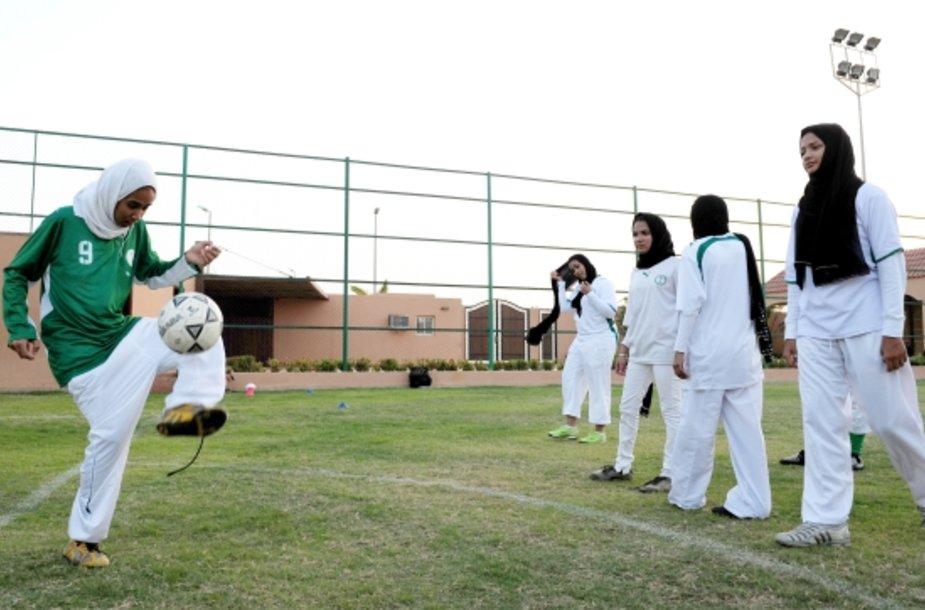 Saudo Arabijos futbolininkės