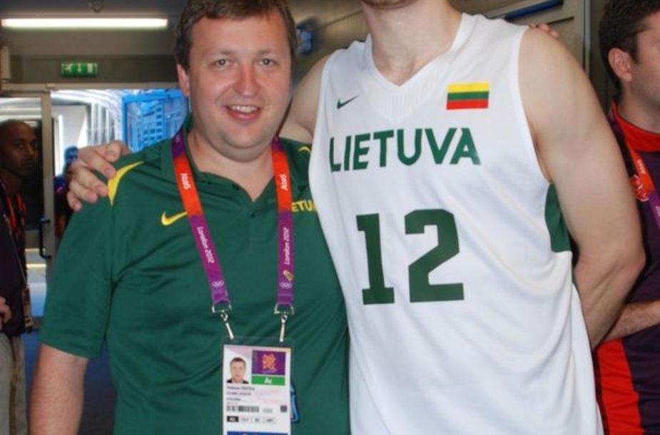 Antanas Guoga ir Antanas Kavaliauskas