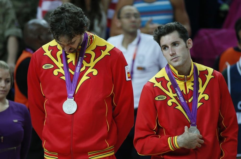 Pau Gasolis ir Rudy Fernandezas