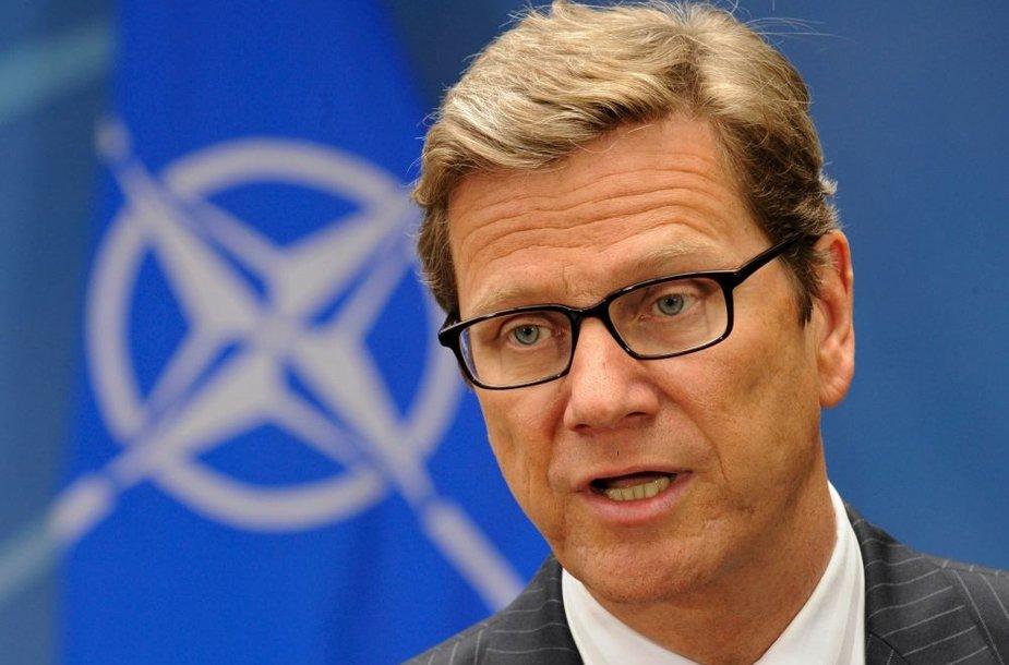 Vokietijos užsienio reikalų ministras Guido Westerwelle