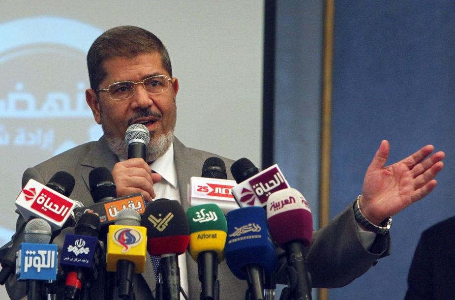 Egipto prezidentas Mohamedas Morsi