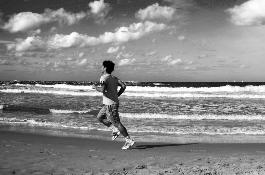 Sportas paplūdimyje