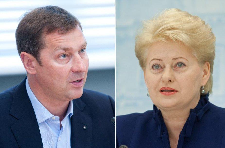 Artūras Zuokas ir Dalia Grybauskaitė