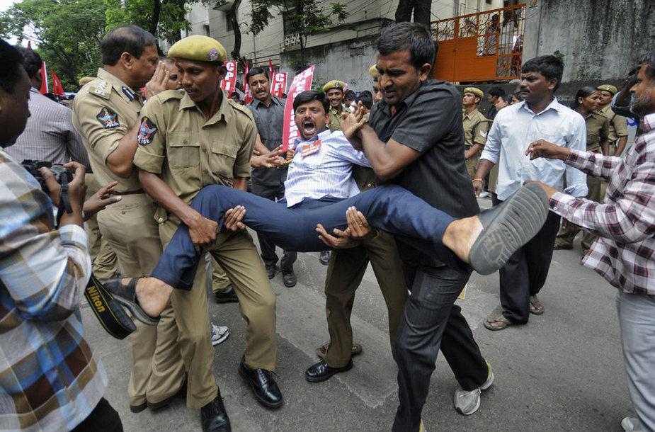 Aktyvistai Indijoje