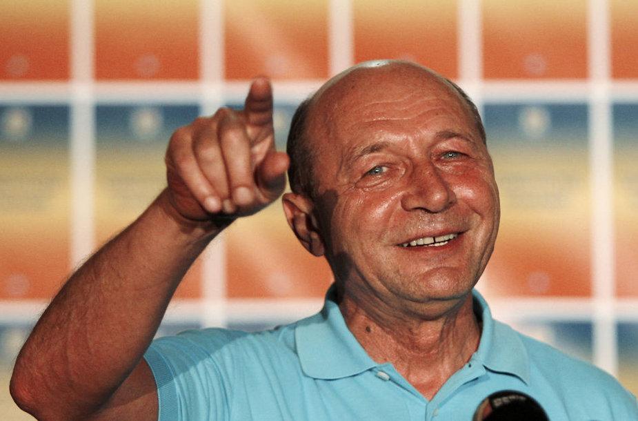 Rumunijos prezidentas Traianas Basescu