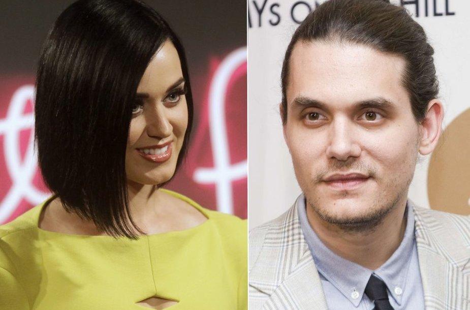 Katy Perry ir Johnas Mayeris