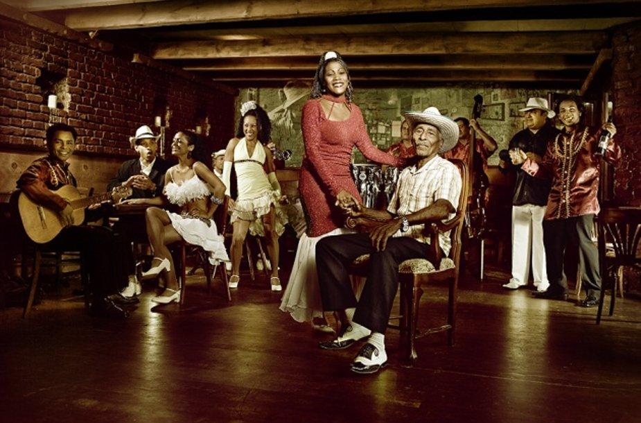 """Kubiečių trupė """"Pasion de Buena Vista"""""""