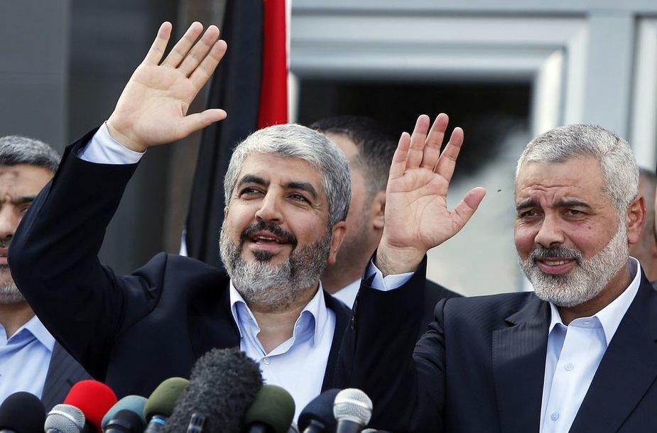 """""""Hamas"""" lyderis Khaledas Meshaalas"""