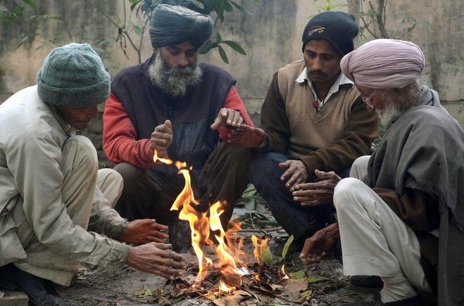 Delyje sausio 2 d. buvo užfiksuota šalčiausia diena