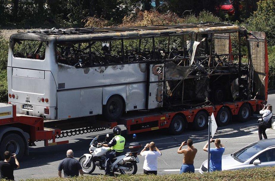 Teroro išpuolis Burgaso kurorte