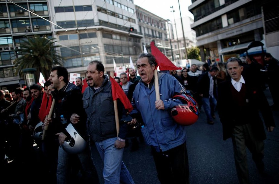 Streikas Graikijoje
