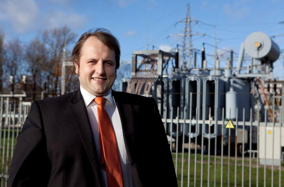 """""""Energijos tiekimo"""" generalinis direktorius Algirdas Juozaponis"""