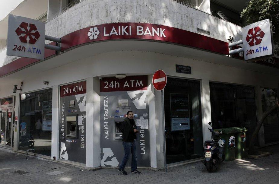 """Laiki"" bankas Kipre"