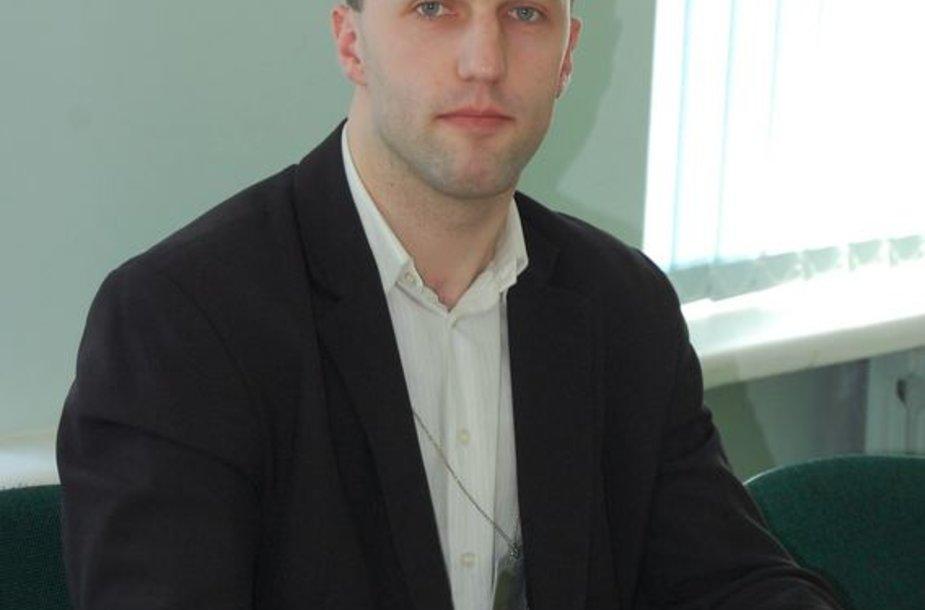 Lazdijų rajono savivaldybės administracijos vyr. specialistas kokybės vadybai ir planavimui Gediminas Giedraitis