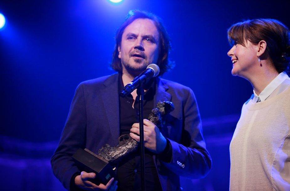 Oskarui Koršunovui įteiktas Hedos apdovanojimas