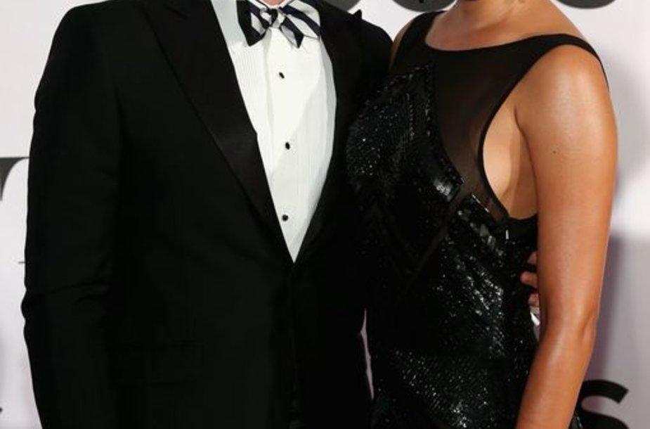 Matthew Morrisonas ir Renee Puente