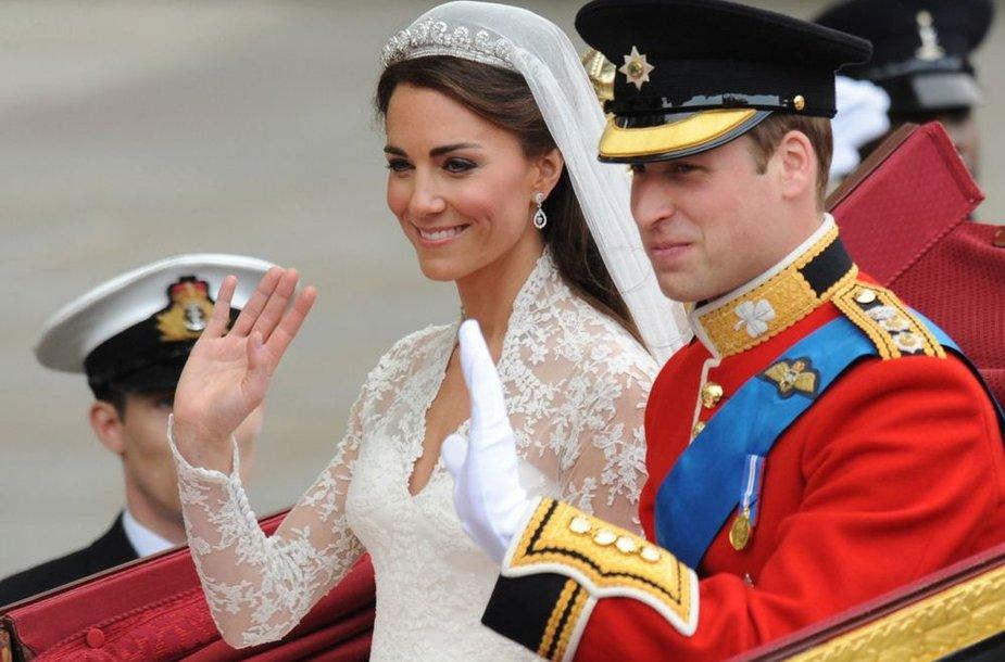 Princas Williamas ir Kembridžo hercogienė Catherine (2011-ųjų balandis)