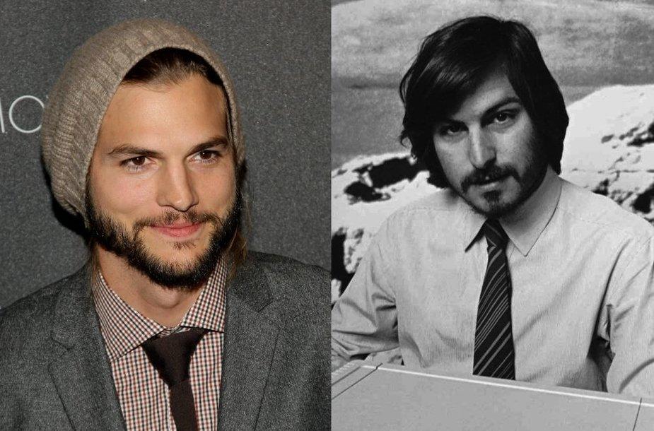 Ashtonas Kutcheris ir Steve'as Jobsas 1977-aisiais