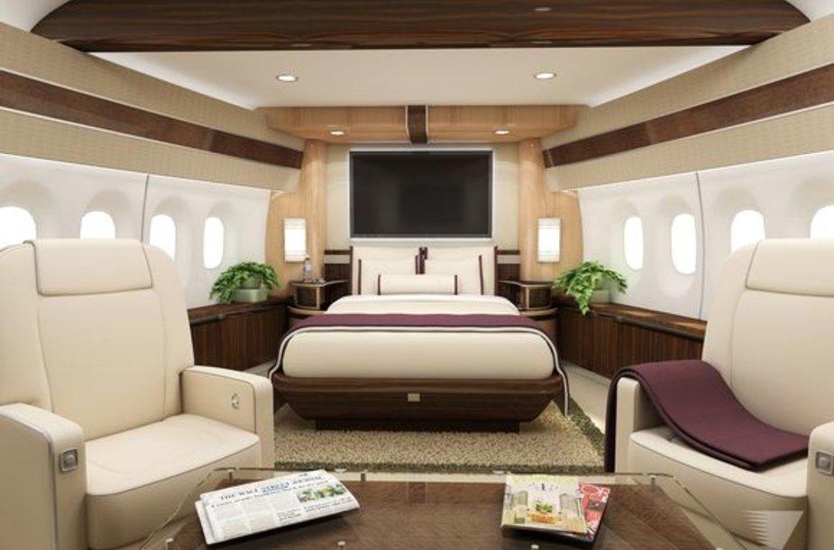 """Boeing 747-8 Intercontinental"" privataus pirkėjo orlaivis"