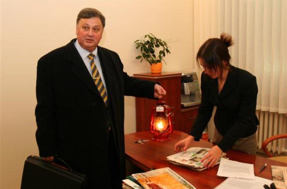 A.Garbaravičius nebenori būti Antikorupcijos komisijos pirmininku.