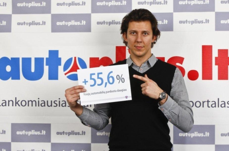Viktoras Daukšas, Autoplius.lt vystymo vadovas