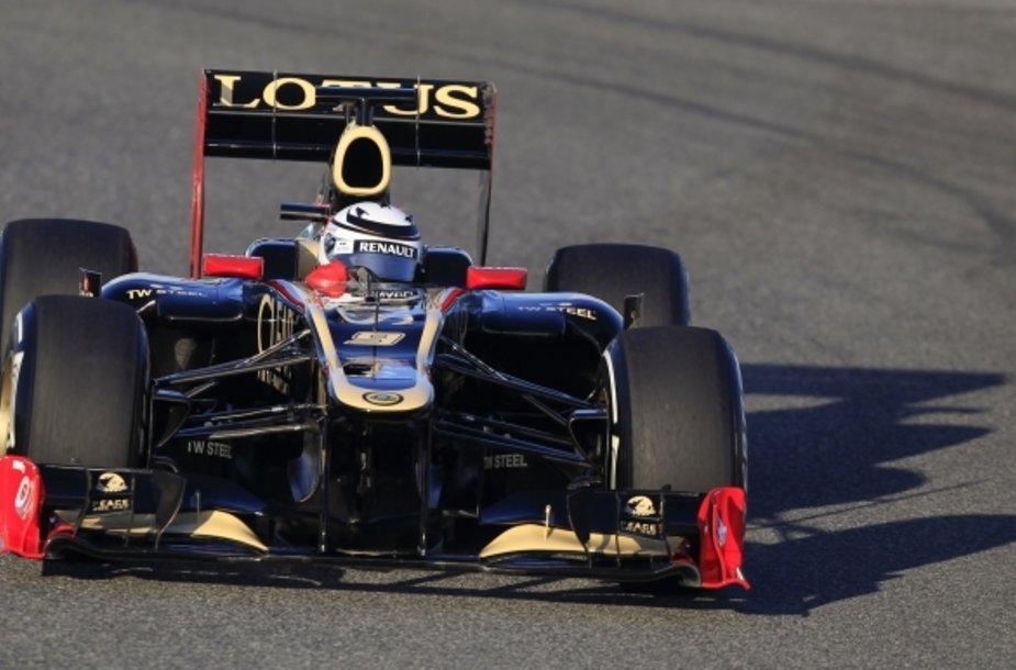 """Kimi Raikkonenas, """"Lotus"""""""
