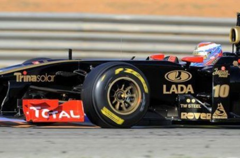 """Lotus Renault GP"" bolidas"